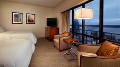 The Westin Seattle  - Double Deluxe with Water View Room