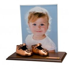 bronzing baby's first shoes