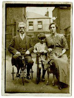 Transportation family photo