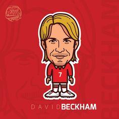 David Beckham #beckham #david #adidas #football #cartoon #comic #england #real #madrid #realmadrid #manchester #united #psg #galaxy #vector #illustration #art #tommillerart #tommillerdesign