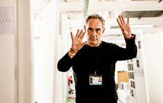 Chef Ferran Adria quite literally wants to change the world.