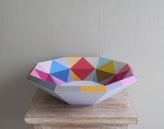 www.ellengiggenbach blogspot.com Paper Bowls, Paper Art, Decorative Bowls, Basket, Home Decor, Manualidades, Papercraft, Decoration Home, Room Decor