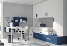 For anyone, your bedroom can be considered a refuge, if you also . Childrens Bedroom Furniture, Bedroom Furniture Sets, Home Furniture, Bedroom Decor, Teenage Room, Small Room Bedroom, Home Decor, Swivel Chair, Bedroom Built Ins
