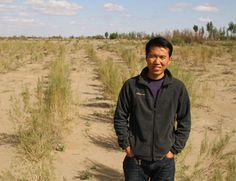Ma Junhe at Minqin County, Gansu Province