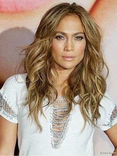 I love JLo hair!  ♡ Gana las ondas y el volumen de la sexy Jennifer López