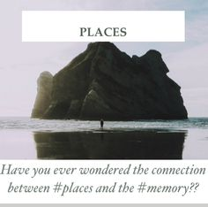 #Olympics of the moving target - DAY 17 - #Places.  Read about the correlation between the #memory and #places.