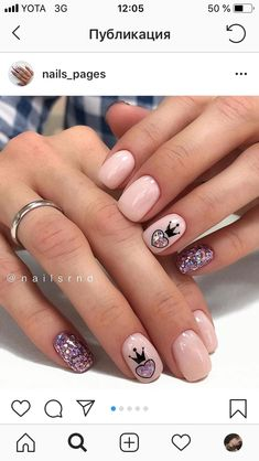 pink Acrylic short square nails design for summer nails, french manicures, short nails Natural Nail Shapes, Natural Nails, Square Nail Designs, Short Nail Designs, Cute Nails, Pretty Nails, My Nails, French Nails, Acrylic Nail Designs