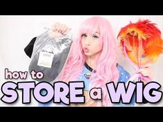 How to Store a Wig | Alexa's Wig Series #3 - YouTube