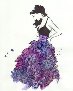..maybe sketch then water color? Beautiful!