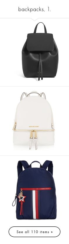 """""""backpacks, 1."""" by originalimanim ❤ liked on Polyvore featuring bags, leather drawstring backpack, leather bags, draw string bag, mansur gavriel, genuine leather backpack, backpacks, beige, monogrammed backpacks and beige backpack"""