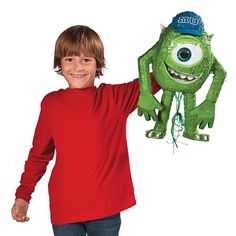 Disney Pixar Monsters University 3D Piñata - OrientalTrading.com