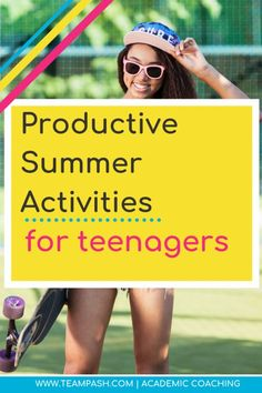 How to Help Students have a Productive and Fun Summer — Team Pasch Academic Coaching School Planner, School Schedule, Study Skills, Life Skills, College Search, Summer Activities, Exercise Activities, Easter Activities, College Essay