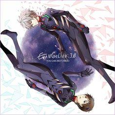 Neon Genesis Evangelion - Shinji x Kaworu