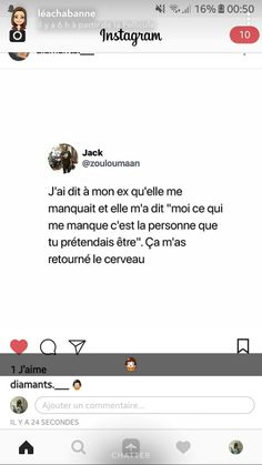 French Quotes, Bad Mood, Love, Woman Quotes, Couple Goals, It Hurts, Sad, Facts, Messages