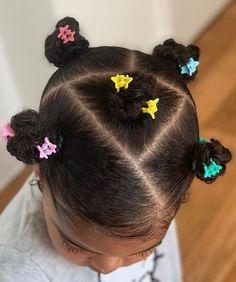 Cute Toddler Hairstyles, Cute Little Girl Hairstyles, Black Kids Hairstyles, Natural Hairstyles For Kids, Baby Girl Hairstyles, Kids Braided Hairstyles, Cute Hairstyles, Braids For Kids, Girls Braids