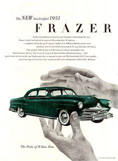 1951 Frazer Four Door Sedan