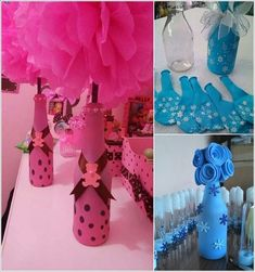 Cool Ways to Decorate Glass Bottles 1