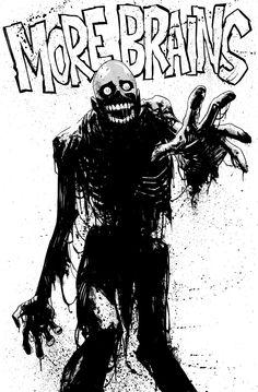 Tar man from Return of the Living Dead