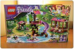 Die große Dschungel-Rettungsbasis von LEGO® Friends! Begleite Andrea und Stephanie in die große Urwaldbasis mit unfassbaren vielen Spielmöglichkeiten.
