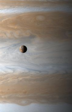 "thedemon-hauntedworld: ""Io: Moon Over Jupiter Io (usually pronounced ""EYE-oh"") is kilometers in diameter, about the size of planet Earth's single large natural satellite. Gliding past Jupiter at. Sistema Solar, Space Planets, Space And Astronomy, Carl Sagan, Cosmos, Jupiter Planet, Astronomy Pictures, Space Photography, Hubble Space"