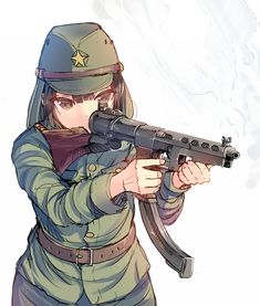Safebooru is a anime and manga picture search engine, images are being updated hourly. Anime Military, Military Girl, Guerra Anime, Gunslinger Girl, Military Drawings, Anime Version, Girls Frontline, Anime Fantasy, Dieselpunk