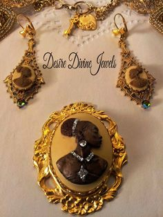 "African American Women Cameo Desire Divine Jewels: ""Always A Lady"" http://desiredivinejewels.blogspot.com/"
