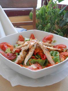 Salata acapulco Green Beans, Vegetables, Food, Acapulco, Salads, Veggies, Essen, Vegetable Recipes, Green Bean