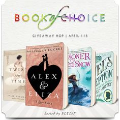 FLYLēF - Young Adult Book Blog for Reviews and Giveaways: April Book of Choice Giveaway