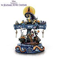 'The Nightmare Before Christmas' Illuminated Musical Carousel