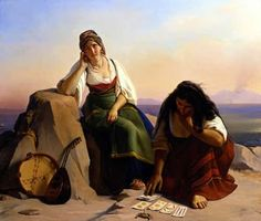 Jean-Claude Bonnefond - The fortune teller True Tarot, Santa Sara, Divine Tarot, Arte Fashion, Famous Artwork, Fortune Telling, Tarot Readers, Historical Art, Claude