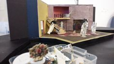 Pygmalion's Meet and Greet today! Set model by Annie Smart.