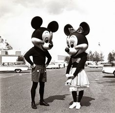 Mickey et Minnie Source : By the way...