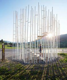 Sou Fujimoto Architects, Hufton + Crow · BUS:STOP Krumbach
