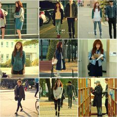 Kpop Outfits, Korean Outfits, Fashion Outfits, Women's Fashion, Kim Go Eun Style, My Style, Daily Fashion, Everyday Fashion, Cheese In The Trap Kdrama