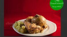 Chaos Kitchen 51 - Mandel Auflauf mit Äpfeln aus Hildegard von Bingen - Almond pudding with apples