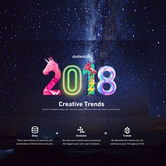 We love to read statistics, some of them are important since they are industry trends and helpful. But few are as fun and beautiful to learn about as 2018 creative trends. The Big Year, Digital Asset Management, Industry Trends, Trend Analysis, Statistics, Middle East, How To Find Out, Infographic, Challenges