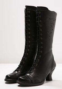 Diese Stiefel spiegeln den Glanz alter Zeiten wider. Neosens ROCOCO - Schnürstiefel - ebony für 249,95 € (10.09.16) versandkostenfrei bei Zalando bestellen.