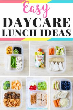 Check out these easy toddler lunch ideas for daycare, preschool or at home! They are healthy too! #mealplanning #toddlerfood #toddlerlunch #lunchideas #daycare sponsored by @HappyFamily