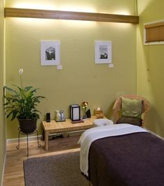 Since I am going to school for massage therapy..when I move I want to have a room separate for massages.