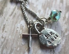 Jeremiah 29:11 Necklace Jer. 29 11 by designchickcreations on Etsy