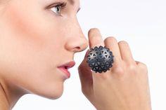 Linn Sigrid Bratland #fuorisalone #lambrate #din2016 #jewel #ring #silversmith #fromNorway #pinDin