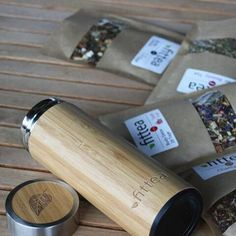 Bamboo thermo bottle - Fittea/Fitvia €34,90