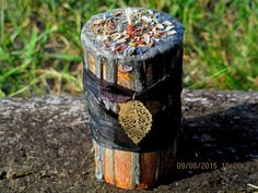 Samhain Candle Spell Candle Witchcraft Candle by MysticsRealm