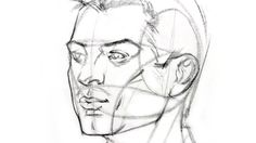 How to Draw a Face : Here's a simple way to place the features accurately when drawing a head. Description from webneel.com. I searched for this on bing.com/images