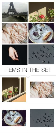 """Mornings In Paris"" by silentmoonchild ❤ liked on Polyvore featuring art"