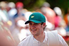Niall Horan // The Masters tournament in Georgia (4.8.15)