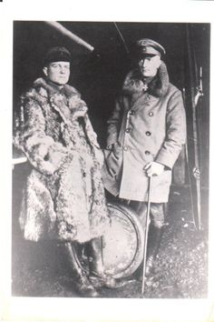 Manfred von Richthofen und Lothar von Richthofen