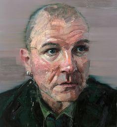 Colin Davidson............Portrait of Gavin Friday 2013 oil on linen 127 x 117 cm