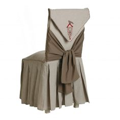 Housse de chaise longue Coucou #Blancheporte