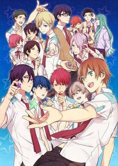 Tengenji looks hot! Anime Love, Anime Guys, Hotarubi No Mori, My Singing, Manga Cute, High School Musical, Manga Pages, Photo Wall Collage, Fujoshi